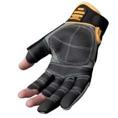 DeWalt Finger Framer Power Tool Glove - Grey/Black, Large (Size 9 1/2-10 ): Amazon.co.uk: DIY & Tools