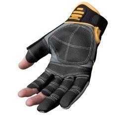 DeWalt Finger Framer Power Tool Glove - Grey/Black, Large (Size 9 1/2-10 ): Amazon.co.uk: DIY & Tools
