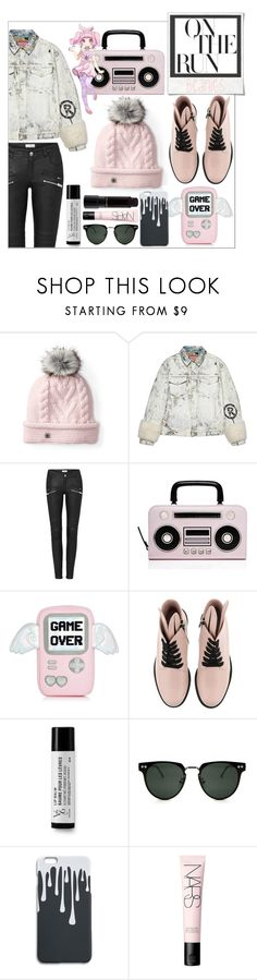 """On the Run"" by atarituesday ❤ liked on Polyvore featuring Smartwool, Gucci, Kate Spade, Polaroid, Minna Parikka, V76 by Vaughn, Spitfire, KOKOKim, NARS Cosmetics and MAC Cosmetics"