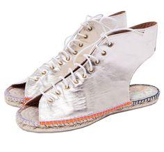 Sommergrüße an die Füße: Sandale mit Espadrillesohle Tsumori Chisato