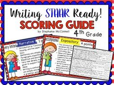 These posters are designed and created based on STAAR.  They are specific to narrative and expository compositions.  On the STAAR assessment (both narrative and expository), there are three dimensions of quality that are used in evaluation:Organization & ProgressionDevelopment of IdeasUse of Language and Writing ConventionsStudents should be familiar with the expectations for high-quality writing in each genre.