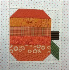 pumpkin block with borders