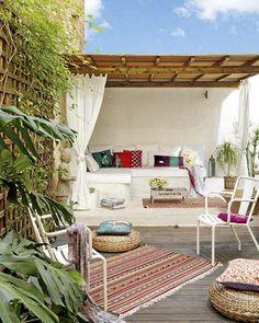 Σπίτι και κήπος διακόσμηση: 32 Μοντέρνες ιδέες σχεδιασμού βεράντας για περισσότερη καλοκαιρινή απόλαυση