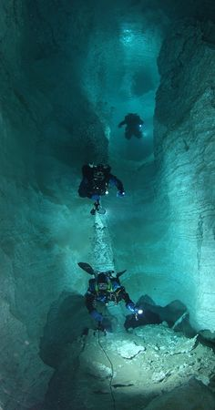 kinda like the cave I was in Guam but this one is a little deeper