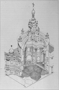 baroque architecture axonometric - Google 검색