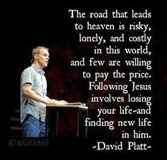 By faith I will make it, thanks to Jesus. Scripture Quotes, Faith Quotes, Scriptures, Grace Quotes, Scripture Reading, Jesus Quotes, Christian Life, Christian Quotes, David Platt