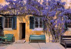 Exterior of the Castle of Sidney Sonnino in Montespertoli, Florence. #florence #tuscany #sonnino