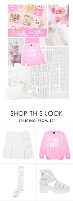 """KAWAII❤BOX (READ THE DESCRIPTION, PLEASE)"" by akihabara ❤ liked on Polyvore featuring Monki, Calvin Klein, ASOS and Forever 21"