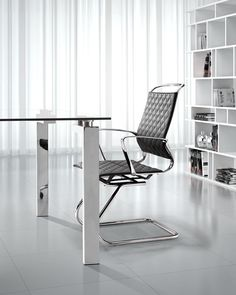 Jackson Conference Chair, Roca Dining Table