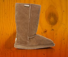 The Bearpaw Emma flat boot is perfect for walking to class or staying warm at a weekend football game. Find them at Show Carnival.