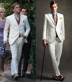 Brooks Brothers White Linen Suit Gatsby