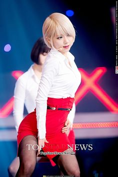 [HD포토] 에이오에이(AOA) 초아, '짧은 치마-검은 스타킹…역대급 섹시美' (쇼 챔피언) by TopStarNews.Net, via Flickr