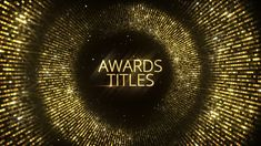 ▽ [Get Free]◅ Awards Titles Awards Cinematic Emmy Awards Fashion Film Film Festival After Effects Projects, After Effects Templates, Award Template, Open Project, New Years Poster, Web Design, Graphic Design, Creative Video, Modular Design