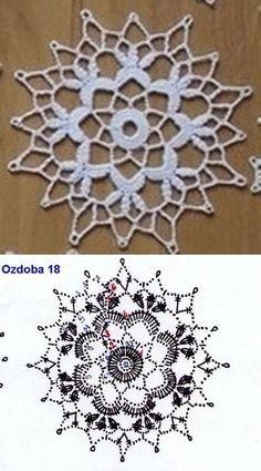 Exceptional Stitches Make a Crochet Hat Ideas. Extraordinary Stitches Make a Crochet Hat Ideas. Crochet Flower Squares, Crochet Snowflake Pattern, Crochet Motif Patterns, Crochet Stars, Crochet Circles, Christmas Crochet Patterns, Crochet Snowflakes, Tatting Patterns, Crochet Diagram