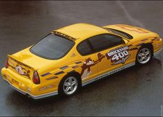 2001 Chevrolet Monte Carlo Brickyard Pace Car Monte Carlo Car, Chevrolet Monte Carlo, Hot Cars, Nascar, Automobile, Ss, Yellow, Muscle, Motorcycle