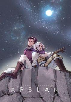 gieve and arslan from arslan senki #anime