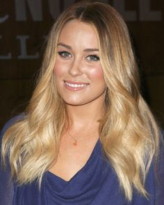 LC's ombre hair