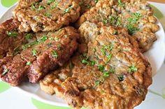 TOP 7 nejlepších receptů z hub Czech Recipes, Ethnic Recipes, Meatloaf, Tandoori Chicken, Recipies, Beef, Recipes, Meat, Steak