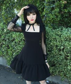Haven't got the dress but it's a inspo for shoot ; Gothic Outfits, Gothic Dress, Lolita Dress, Gothic Lolita, Victorian Gothic, Gothic Girls, Visual Kei, Lolita Fashion, Gothic Fashion