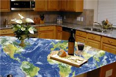 ... Glass countertops, Recycled glass countertops and Countertops