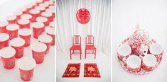 Chinese wedding details.