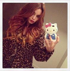 Vanessa Hudgens loves her Instagram, which is why she shared her new hair colour on the app. Source: Instagram user vanessahudgens
