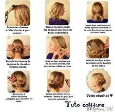 Image - Tuto coiffure cheveux court ! - Skyrock.com