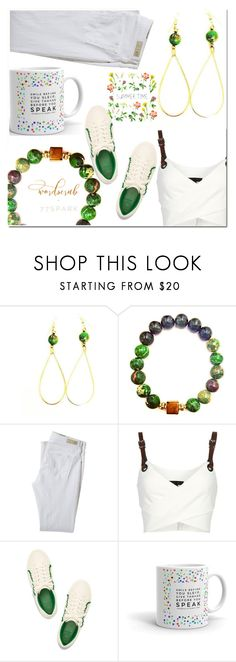 """""""6. 77 Spark"""" by fatimka-becirovic ❤ liked on Polyvore featuring AG Adriano Goldschmied, Barbara Bui and 77spark"""