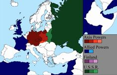 Watch World War II Rage Across Europe in a 7 Minute Time-Lapse Film: Every Day From 1939 to 1945