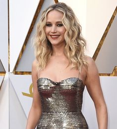 I can't get over how someone could be so perfect?! Jennifer Lawrence - in Dior- at the 90th Academy Awards 2018
