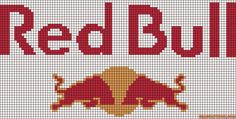 cuisine - kitchen - red bull - point de croix - cross stitch - Blog : http://broderiemimie44.canalblog.com/