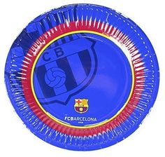 Official Barcelona Soccer Football Club FC Barcelona 10 Pack Paper Party Plates 20cm Glossy Finish -- Visit the image link more details. Note:It is affiliate link to Amazon.