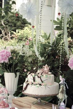 vintage chic high tea