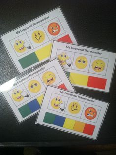 """My Emotional Thermometer"" was created to help teachers teach younger children to learn to recognize their own escalation cycle, an important step in developing emotional regulation skills. $  Find it here: http://www.teacherspayteachers.com/Product/My-Emotional-Thermometer-Visual-Support-Charts-to-Assist-Emotional-Regulation-972815"