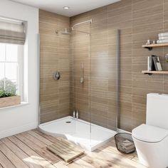 Proč do koupelny vybrat bezdvéřový sprchový kout walk-in | Biano