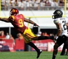 Previous Article Next Article JuJu Smith-Schuster and USC WR Jalen Greene Make Impressive Trick Play – Watch this impressive touchdown pass along with freshman highlights of JuJu Smith. (FOX Sports) – USC WR Jalen Greene, who played quarterback in high school, helped his team record one of its...