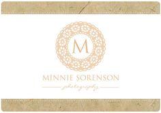 PreDesigned PreMade Custom MINNIE Logo Design