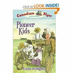 Pioneer Kids (Book) : Wishinsky, Frieda : Emily and Matt are transported back in time on an antique red sled, the Canadian Flyer, to the Canadian prairies in the early part of the twentieth century. All About Canada, Homeschool Books, Homeschooling, Country School, Historical Fiction Books, Canadian History, American History, Thematic Units, Kindergarten Science