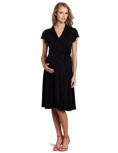Uma Maternity Wrap Dress by Everly Grey
