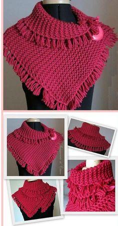 Pretty Tassels Scarf Free Knitting Pattern – Your Crochet Gilet Crochet, Knit Or Crochet, Crochet Scarves, Crochet Shawl, Crochet Clothes, Knitting Scarves, Loom Knitting Patterns, Free Knitting, Sock Knitting