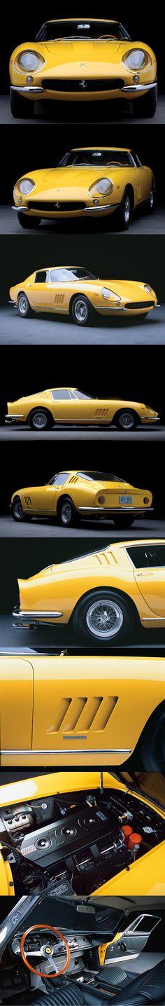 1967 Ferrari 275 GTB/4 / 300hp / Pininfarina / yellow / Italy / 17-182