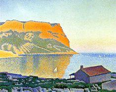 Paul Signac (1863-1935) - Cassis, Cap Canaille, 1889