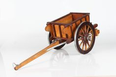Hand pull or animal pull small wagon / trailer.