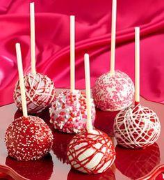 10 Valentine's Day Food & Treats - Valentine's Day Decadent Truffle Cake Pops