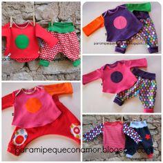 Para mi peque con amor: Regalos para bebés: ropa colorida y divertida.