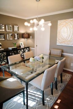 Ridgehaven Road - Transitional - Dining Room - dallas - by Samantha Kate Design