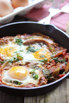 Shakshuka...The Best Delicious  Healthy Breakfast.