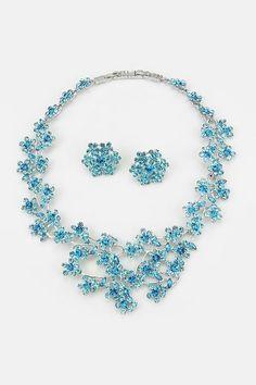 Crystal rafaela #Necklace #Earrings #jewellery
