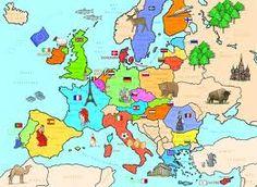 Carte De Leurope Avec Ses Capitales.81 Images Formidables De Geographie En 2019 Apprentissage