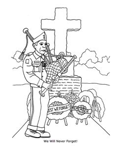 Memorial Service At The Tomb Of Heroes Coloring Pages - Remembrance day Coloring Pages : KidsDrawing – Free Coloring Pages Online Shark Coloring Pages, Coloring Sheets For Kids, Halloween Coloring Pages, Printable Coloring Pages, Coloring Books, Remembrance Day Pictures, Memorial Day Pictures, Remembrance Day Art, Memorial Day Coloring Pages